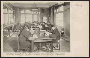 Brooklyn branch of the Naval Young Mens Christian Association Library