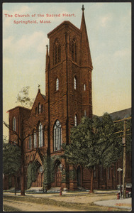 The Church of the Sacred Heart, Springfield, Mass.