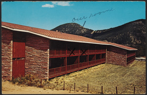The Alpen Inn, a luxury dormintory at the Y.M.C.A. Camp of the Rockies, Estes Park, Colorado