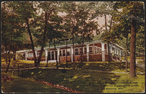 The Weidensall Administration building, Young Men's Christian Association Camp, Lake Geneva, Wis.