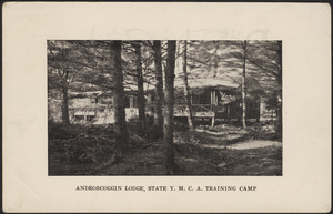 Androscoggin Lodge, State Y.M.C.A. Training Camp