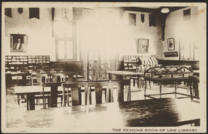 The reading room of Low Library