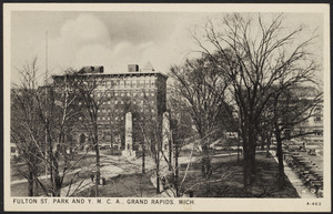 Fulton St. Park and Y.M.C.A., Grand Rapids, Mich.