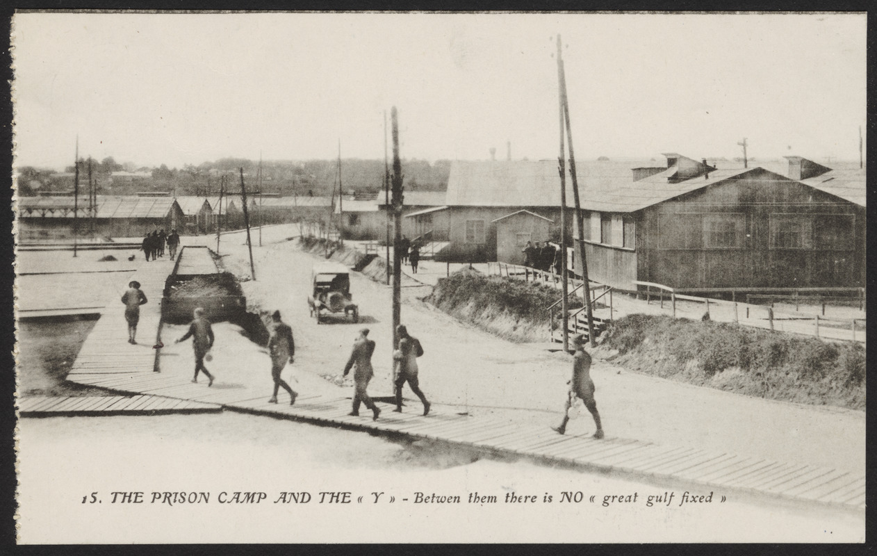 15. The prison camp and the (Y) - between them there is no (great gulf fixed)