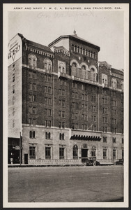 Army and Navy Y.M.C.A. building, San Francisco, Cal.