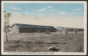 301st Ammunition Train Barracks, Camp Devens, Mass