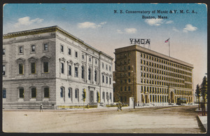 N.E. Conservatory of Music & Y.M.C.A., Boston, Mass.