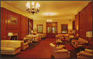 Beautiful East Lounge, William Sloane House YMCA