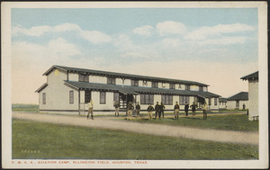 Y.M.C.A. Aviation Camp, Ellington Field, Houston, Texas