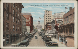 Capitol Boulevard, looking north, Nashville, Tenn.