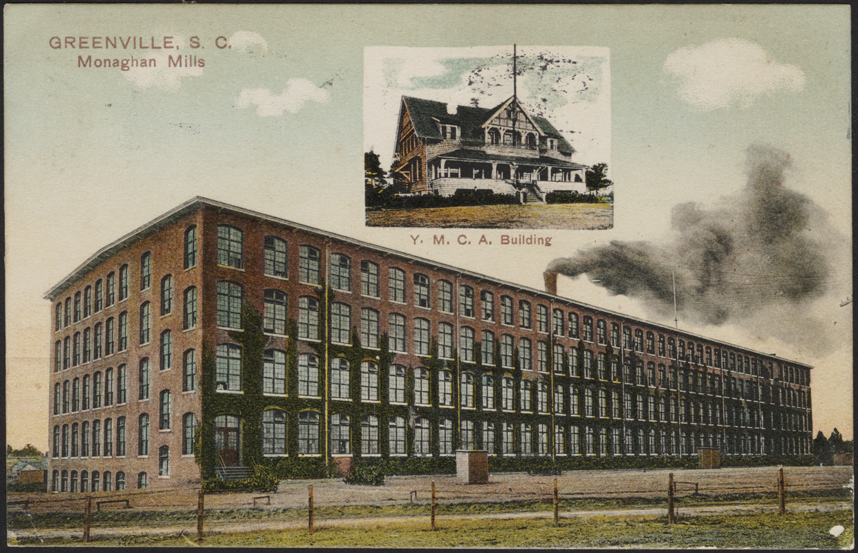 Greenville, S.C., Monaghan Mills, Y.M.C.A. building
