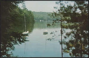 Archibald Lake from Archibald Y.M.C.A. Camp near Lakewood and Townsend, Wisconsin