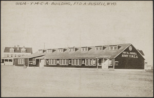 Y.M.C.A. building, Ft D. A. Russell, Wyo.