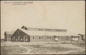 The Y.M.C.A. Auditorium at Camp Sherman Chillicothe, Ohio