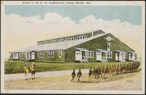 Army Y.M.C.A. Auditorium, Camp Meade, MD