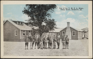 One of the Y.M.C.A. bldgs., Camp Grant, Rockford, Ill.