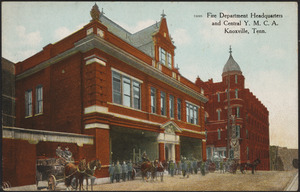 Fire Department Headquarters and Central Y.M.C.A. Knoxville, Tenn.