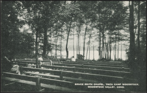 Bruce Smith Chapel, YMCA Camp Woodstock, Woodstack Valley, Conn.