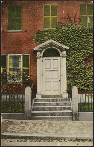 Haven Doorway, Congress St. near Y.M.C.A. Portsmouth, N.H.