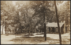 The villa and cottage, Young Men's Christian Association Camp, Lake Geneva, Wis.