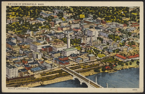 Air view of Springfield, Mass.