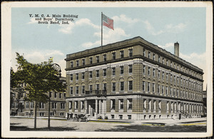 Y.M.C.A. main building and boys' dormitory, South Bend, Ind.