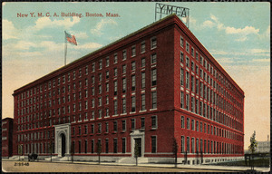 New Y.M.C.A. building, Boston, Mass.