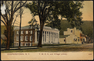 Cooperstown, N.Y. Y.M.C.A. and Village Library