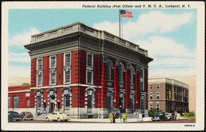 Federal building (Post Office) and Y.M.C.A., Lockport, N.Y.