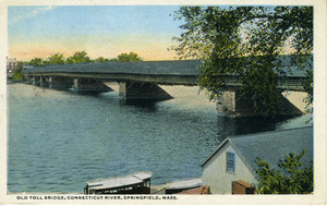 Old Toll Bridge, Connecticut River, Springfield
