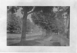 Main Street South from Congregational Parsonage