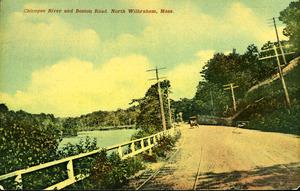 Chicopee River and Boston Road