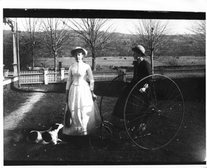 The first tricycle in Wilbraham