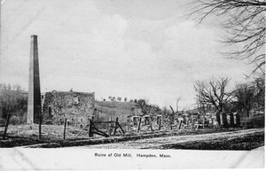 Ruins of the Old Mill, Hampden