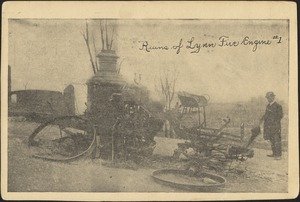 Ruins of Lynn fire engine #1