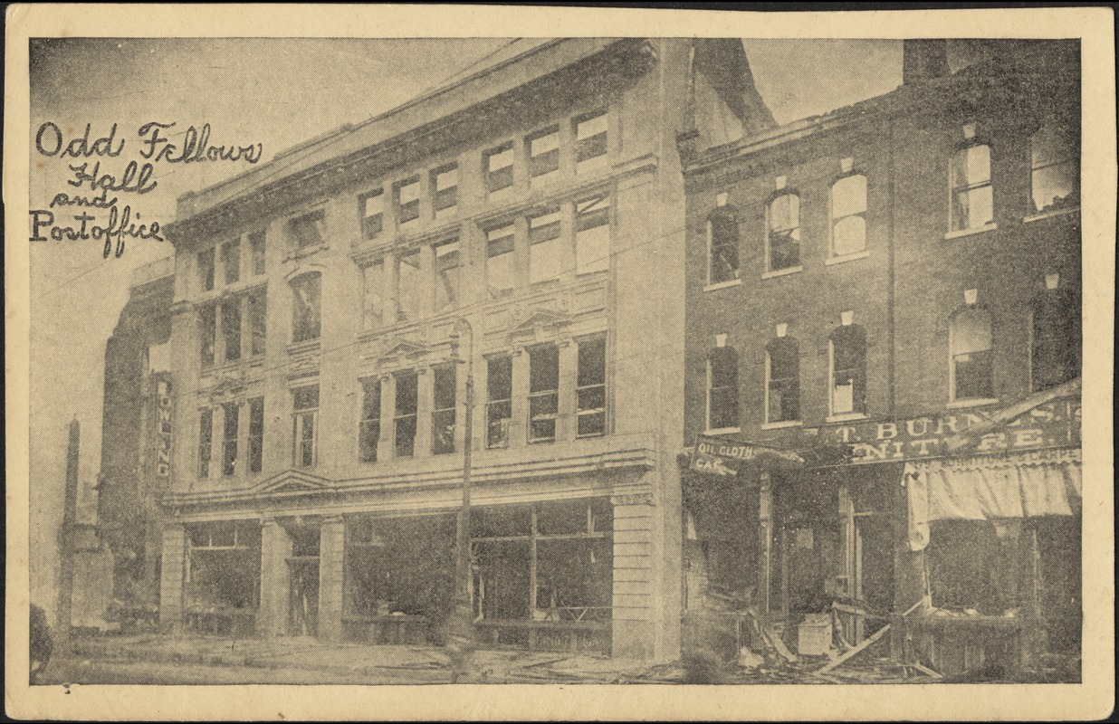 Odd Fellows Hall and post office