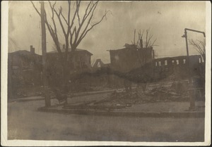 Ruins of the Great Chelsea Fire, Chelsea, Mass.