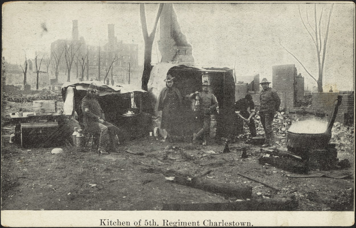 Kitchen of 5th. Regiment Charlestown