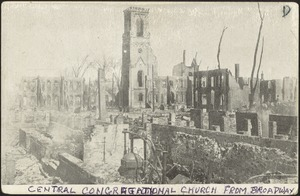 Central Congregational Church from Broadway