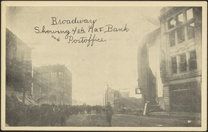 Broadway showing 4th Nat. Bank and postoffice