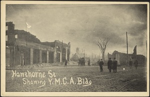 Hawthorne St showing Y.M.C.A. bldg