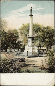 Chelsea Mass, Soldiers Monument