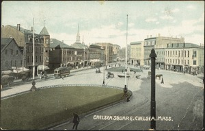 Chelsea Square, Chelsea, Mass.