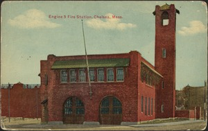 Engine 5 fire station, Chelsea, Mass.