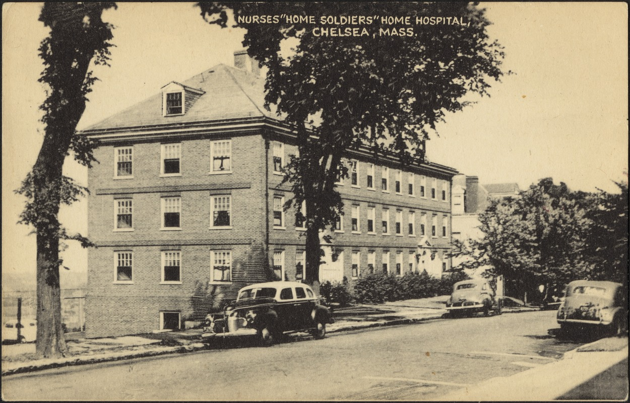 "Nurses ""home soldiers"" home hospital, Chelsea, Mass."