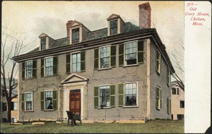 Old Cary House, Chelsea, Mass.