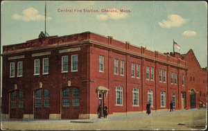 Central fire station, Chelsea, Mass.