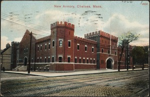 New armory, Chelsea, Mass.