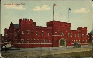 Armory, Chelsea, Mass.
