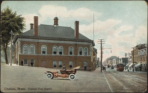 Chelsea, Mass. Central fire station